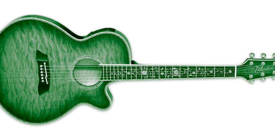 Takamine TSP100 DBS – nowa gitara akustyczno-elektryczna